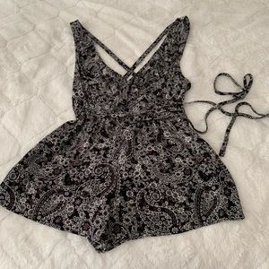 Free People size 4 romper NWT